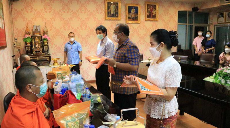 พิธีทำบุญวันคล้ายวันก่อตั้งโรงเรียนกุนนทีรุทธารามวิทยาคม ปีการศึกษา 2564